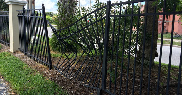 Broken Fence repair Washington DC
